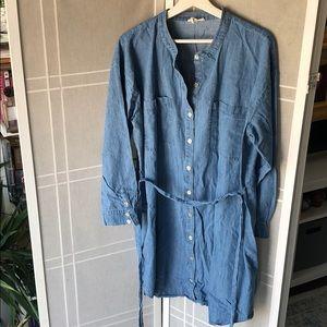 EILEEN FISHER Denim shirt dress